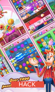candy crush saga facebook hack online